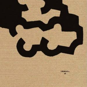 wyjątkowe akcesoria do wystroju wnętrz Eduardo Chillida litografia