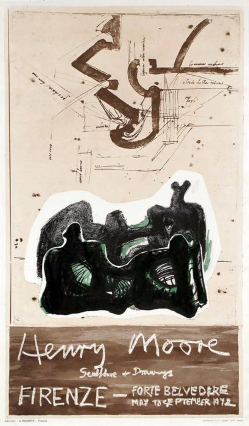 Henry Moore Plakat